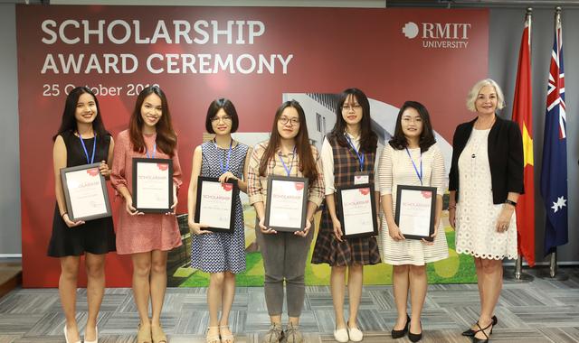 Lễ trao học bổng Rmit